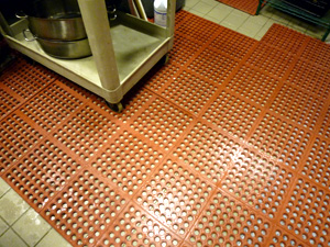 Chef's Best - Modular Grease Resistant Kitchen Utility Mat